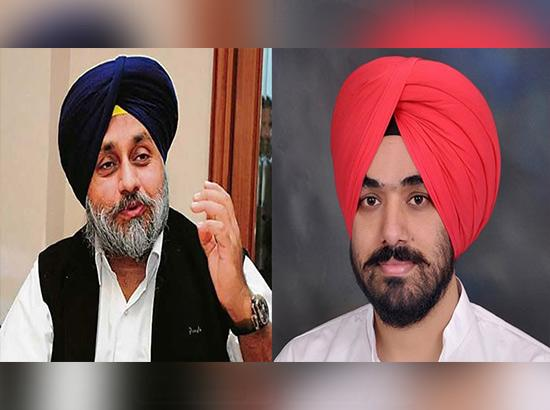 Welcoming positive gesture in Punjab Politics, Youth Congress supports Sukhbir's stateme
