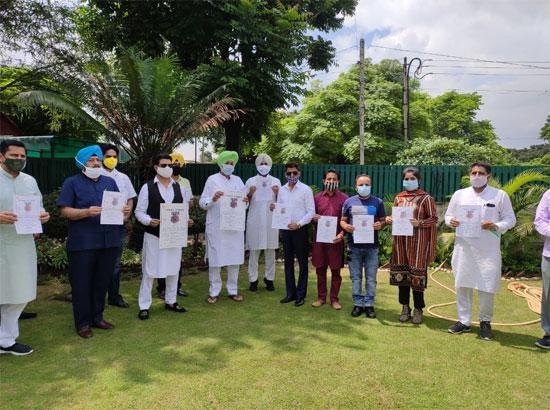 Balbir Singh Sidhu launches awareness music video regarding COVID-19