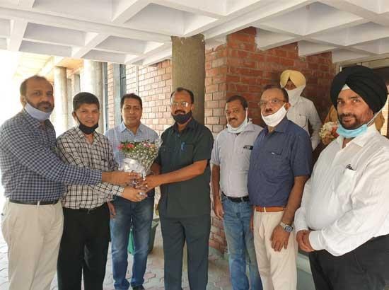 Chief Engineer Balwant kumar joins at Sri Guru Hargobind Thermal Plant