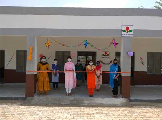 Bathinda refinery Hands over New Science Block Building to School