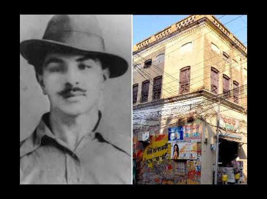 No provision for Bhagat Singh's hideout in
