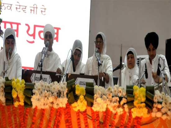 As a mark of respect to women, functions on 5th day dedicated to Bebe Nanki Ji