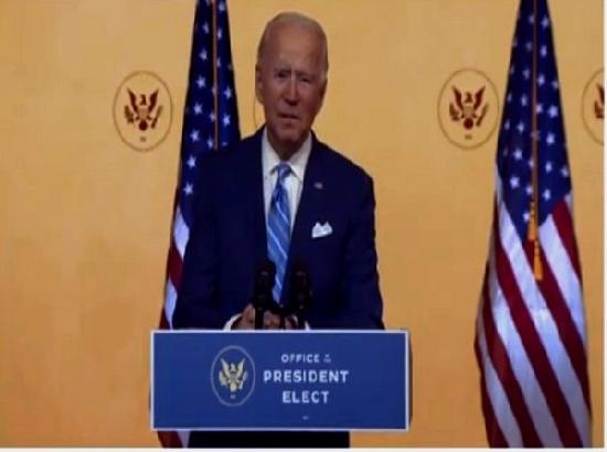 US on track to begin immunization against COVID-19 by late December-early January: Biden