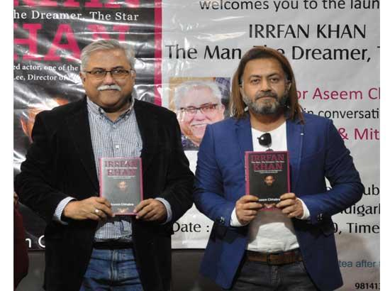 "Book based on actor Irrfan Khan - ""Irrfan Khan, The Man, The Dreamer, The Star"" unveiled"