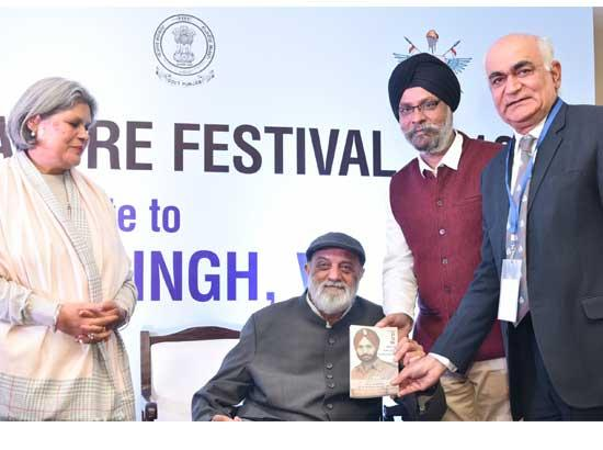 'The Pow Who Saved Kashmir' book on unsung saga of Sher Bacha Brig Pritam Singh' released during Military Literature Fest
