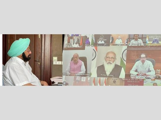 PM's meet with CMs: Capt Amarinder seeks review of immunization strategy to vaccine all