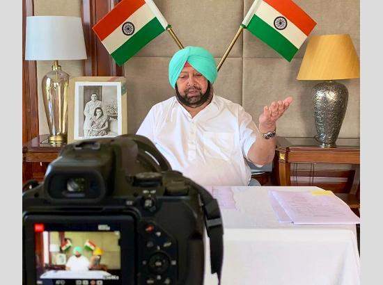 Govt. to organize online job fairs keeping in view of COVID cases' spike: Capt. Amarinder