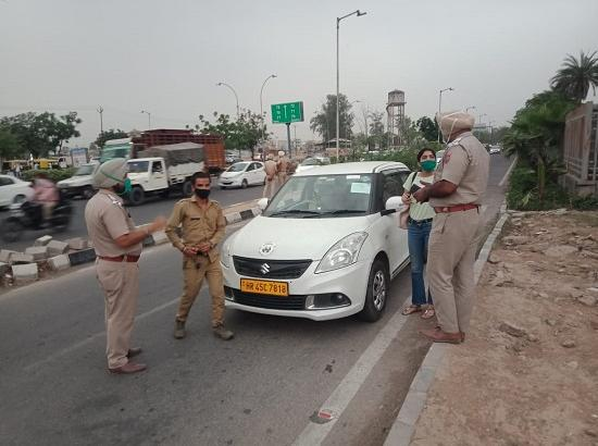 Mohali police keep vigil eye on curfew violators
