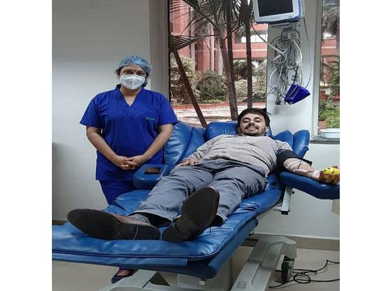 S.A.S. Nagar :  First COVID-19 plasma therapy conducted in Mohali