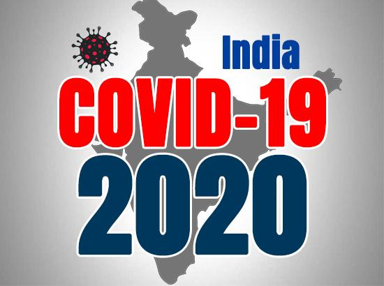India reports 37,975 new COVID-19 cases, 480 deaths in last 24 hours
