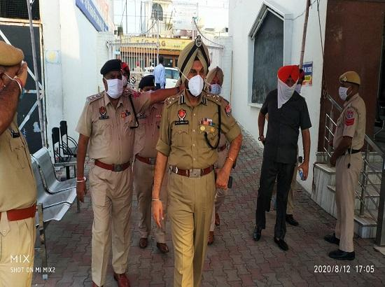 CP visits Temples review security arrangements in view of Janamashtmi
