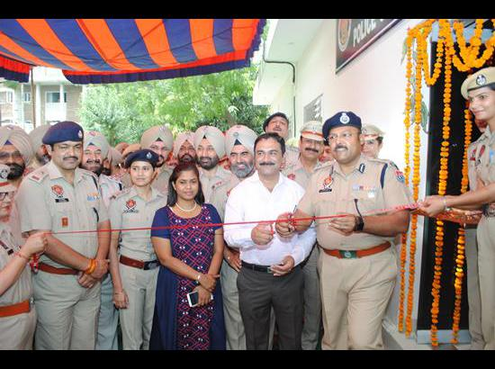 CP inaugurates ultra modern Cyber Crime Cell in Police Lines