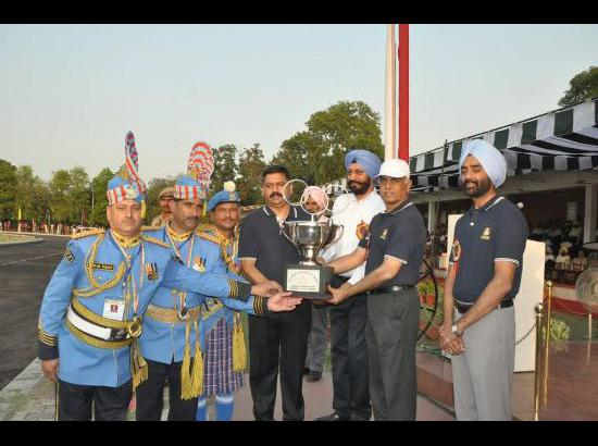 CRPF won overall trophy at 18th All India Police Band Competition