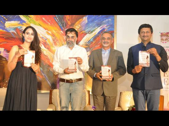 Maiden book by Amritsar-based young author Simran Singh released