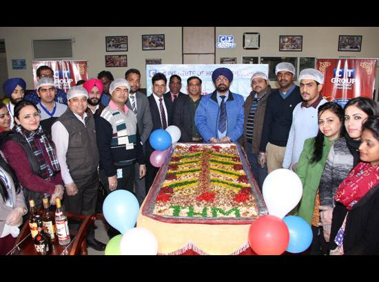 Cake mixing ceremony organised at CT Group of Institutions