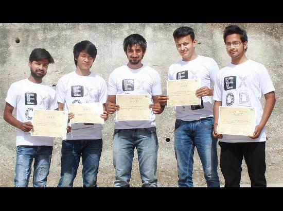 CU Gharuan students bag honours at National Robotic Championships