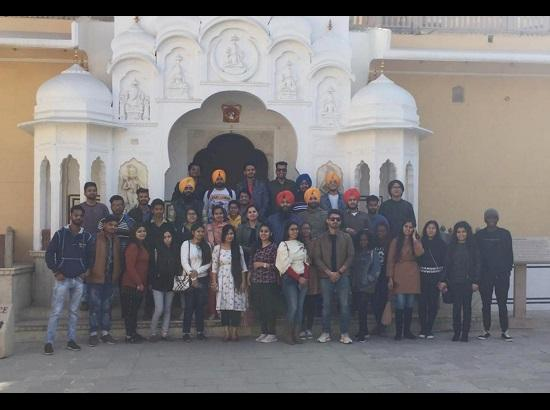CT Architecture students visit Jaipur on educational tour