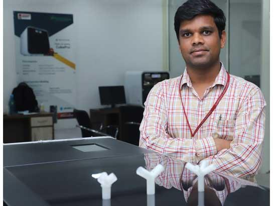 Chandigarh University uses 3D Printing Technology to bridge ventilators shortfall in India