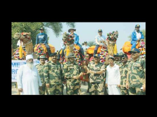 Camal Safari expedition reaches Fazilka covering 1052 KMs distance