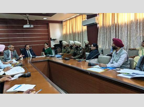 State Child Rights Protection Commission reviews arrangements for upcoming NCPCR camp