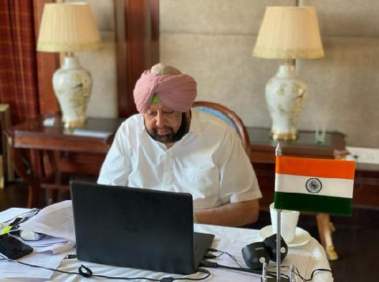 As COVID cases surge in Punjab, Amarinder seeks liberal fiscal package from Modi