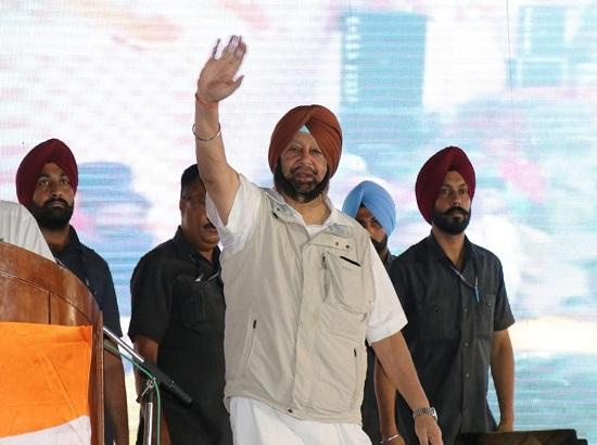 Modi Govt. fostering tensions with Pak, China to divert public attention: Amarinder