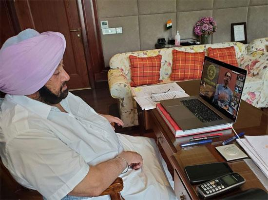 Amarinder directs AG to work with counterparts in other opposition ruled states to file re