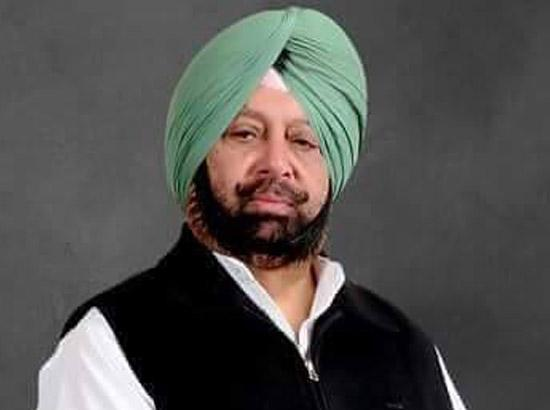 Capt. Amarinder lauds medical fraternity for stupendous work in COVID-19 battle