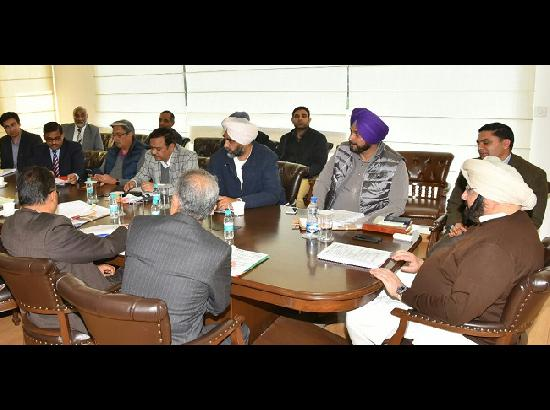 Amarinder asks PIDB to develop PPP model for maintenance & operation of BRTS Amritsar