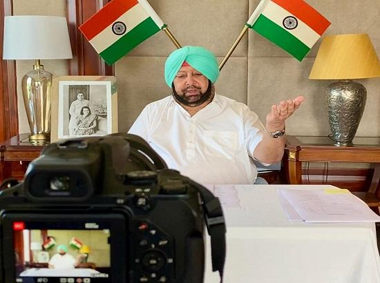 Why is it so difficult to wear masks, Wash hands etc. Amarinder asks amid continued violation of norms