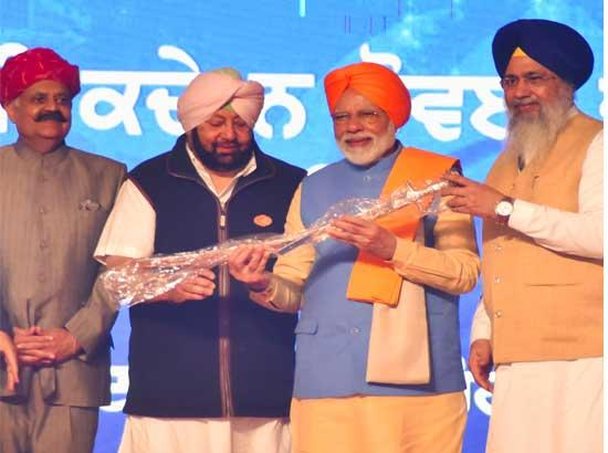 Capt. Amarinder Singh hopes corridor would lead to peaceful Environment between both count