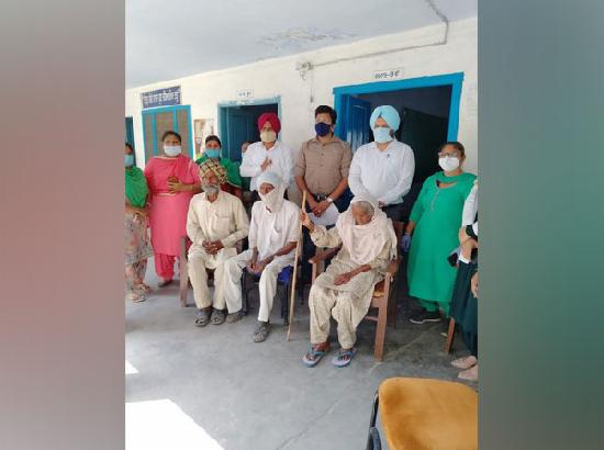 Centenarians emerge as face of vaccination drive in Punjab's Patiala