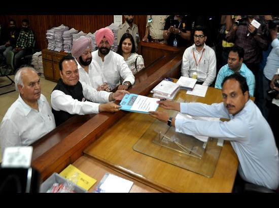 Two Candidates file nominations for Jalandhar Lok Sabha seat on day one