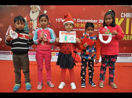 Bestech Square Mall's Christmas kids carnival concludes with masks making workshop