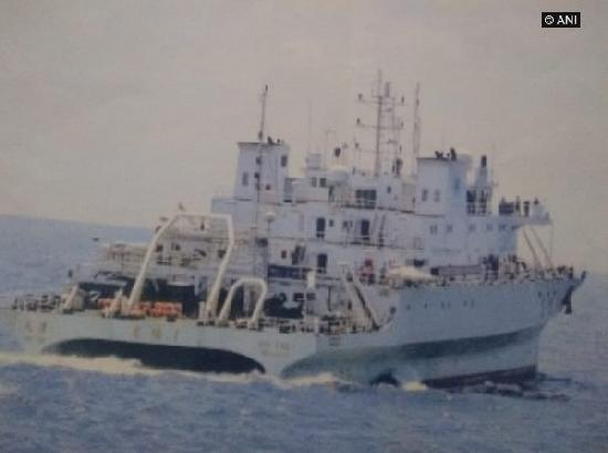Navy drives away suspicious Chinese vessel from Indian waters