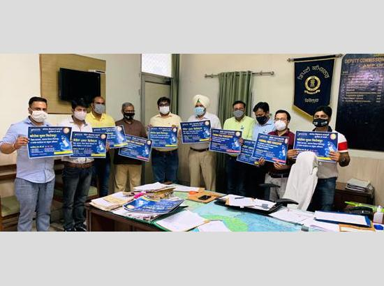 DC launches poster of Corona Free Ferozepur Campaign by NGOs