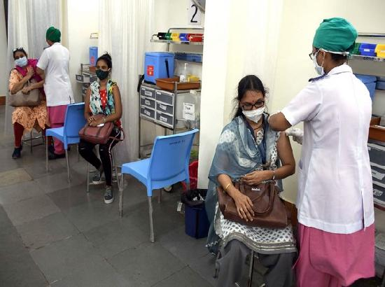 Nearly 12 crores COVID-19 vaccine doses administered so far in India