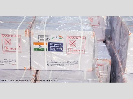 India sends 2 lakh Covid-19 vaccine doses for UN peacekeepers in Denmark