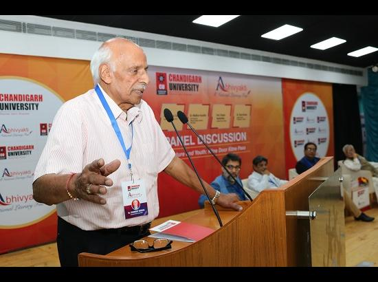 "4th National Literary Festival ""Abhvyakti 2017"" kicks off at Chandigarh University"