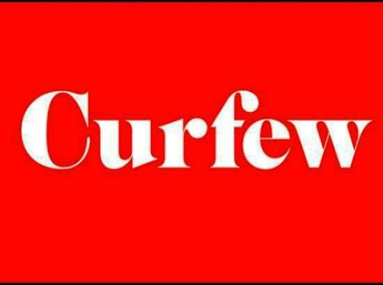 Two booked for violating Curfew orders