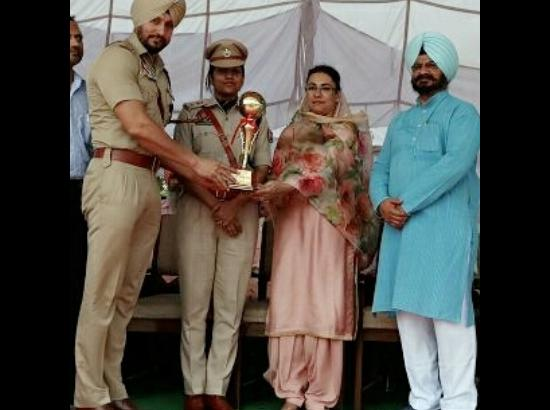 SP (D) Daljit Singh Rana honoured