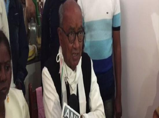 Digvijaya takes dig at Centre over Kumbh amidst rising Covid-19 cases