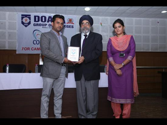 Seven students of Doaba Group of Colleges selected in placement