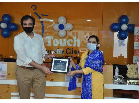 Doctor's day: Doctors felicitated for selfless service against COVID 19