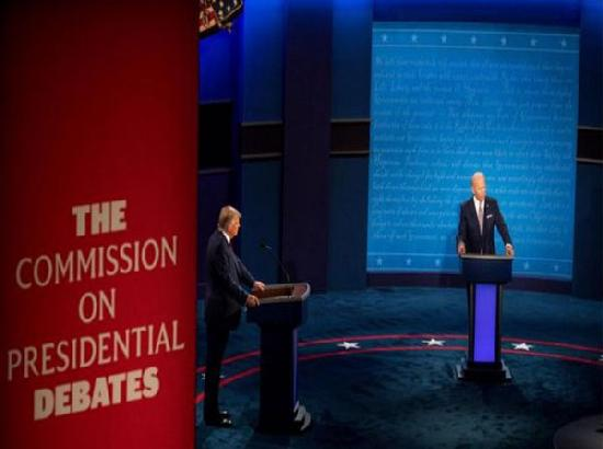 US Presidential Debate: Trump goes after Hunter Biden for work in Ukraine, Joe defends his son