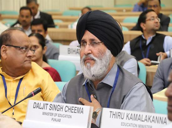Union HRD Minister's decision to amend RTE Act a historic step: Cheema