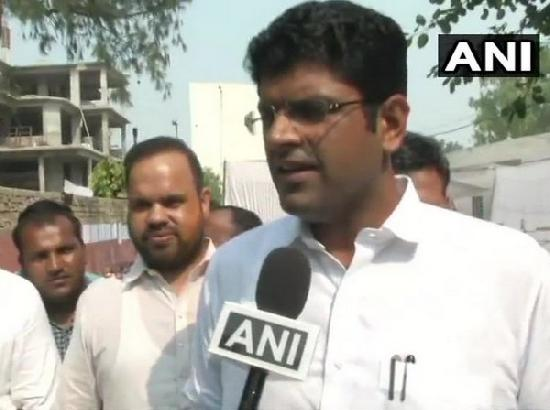 Haven't held discussions with anyone: Dushyant Chautala on reports of Congress offering hi