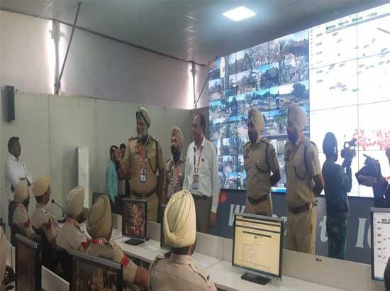 E-Eyes keeping strict vigil over every activity in holy during functions to mark 550th Par
