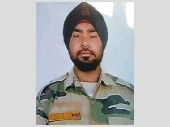 Another Punjab soldier sacrifices life in J&K