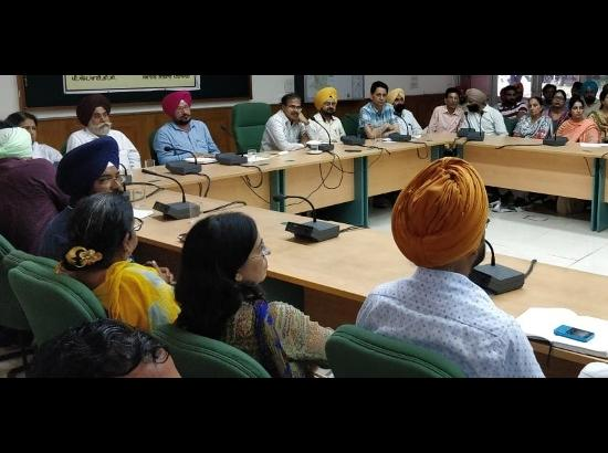 Education Secretary conducts monitoring of 111 schools in Patiala district